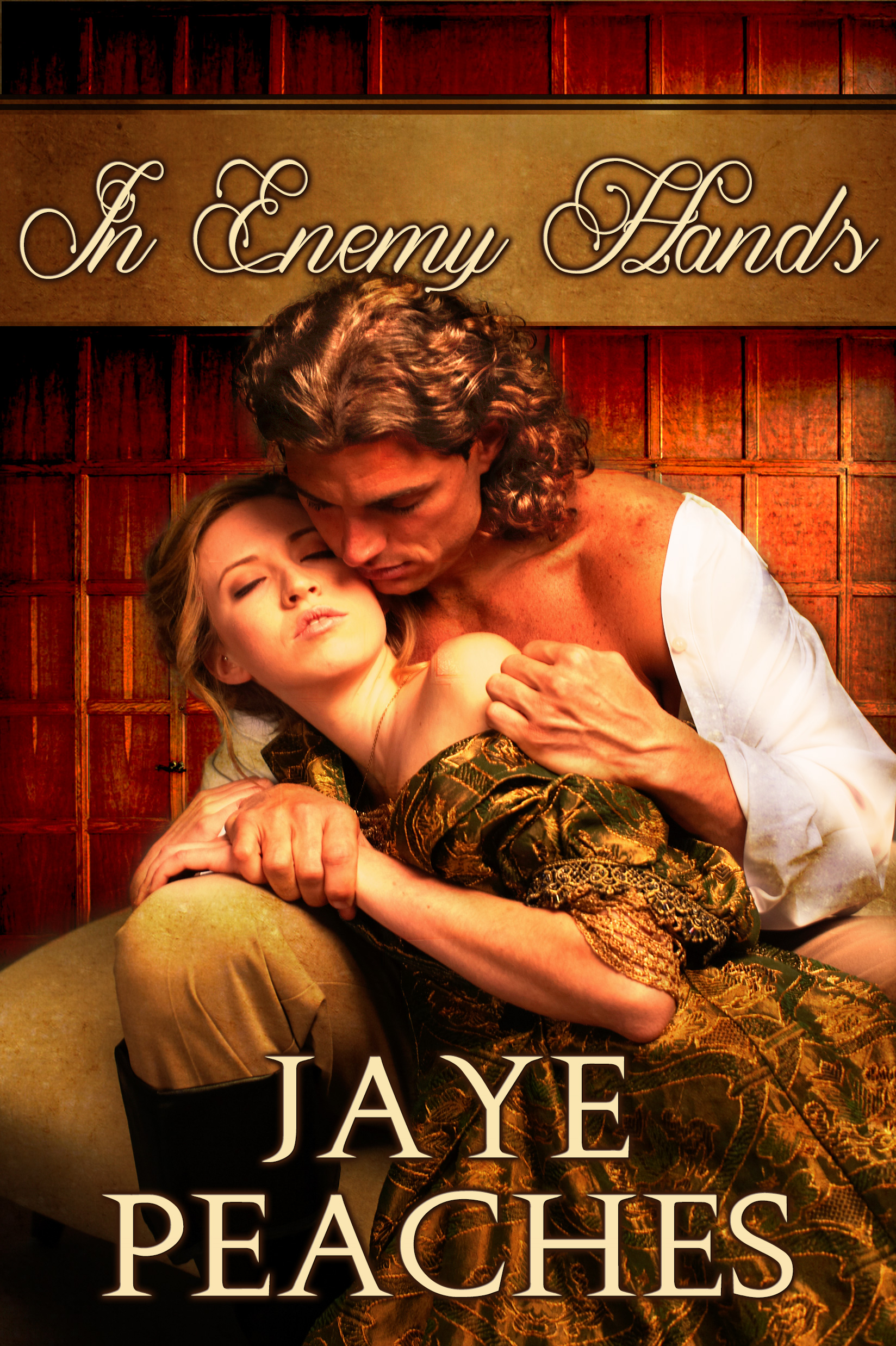 Book Cover: In Enemy Hands